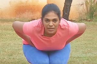 Mandukasana (Frog Pose) | Yoga For Health | Morning Cafe 17-03-2017 Puthuyugam Tv