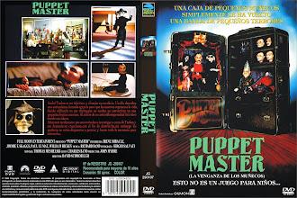 Carátula dvd: Puppet Master (El amo de las marionetas) (1989)
