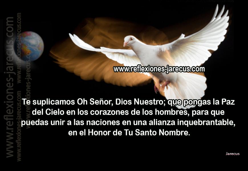 Oración por la Paz, Oraciones, Postales Oración,