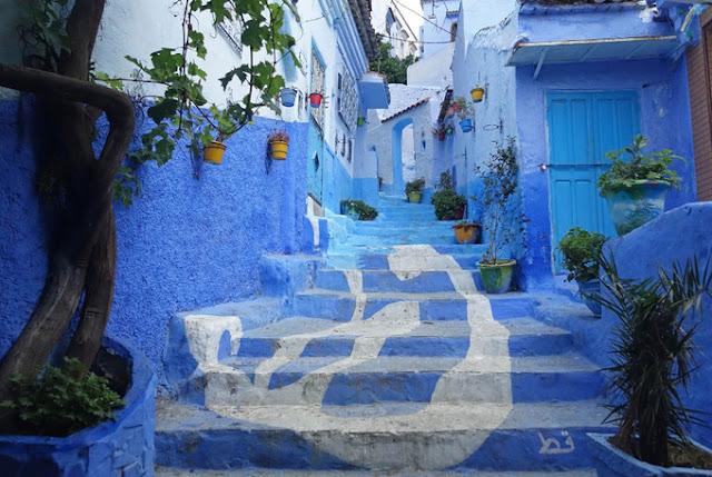 Thị trấn Chefchouen Maroc