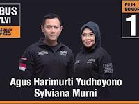 Hasil Quick Count Pilgub Jakarta Suara Agus-Sylvi Putaran Kedua 19 April 2017