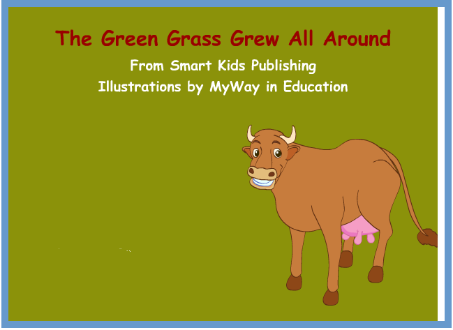 Song 6 The Green Grass Grew All Around English For Kids