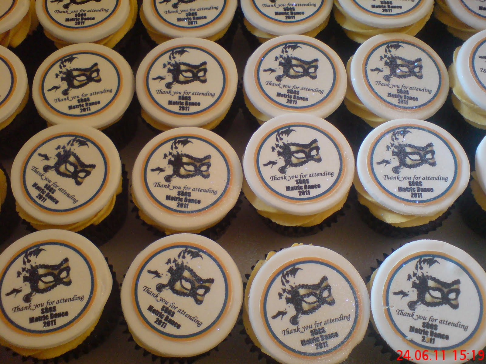 Welcome To Just Iced Matric Dance Cupcakes