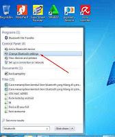 Cara Menampilkan Icon Bluetooth di Taksbar Windows 7