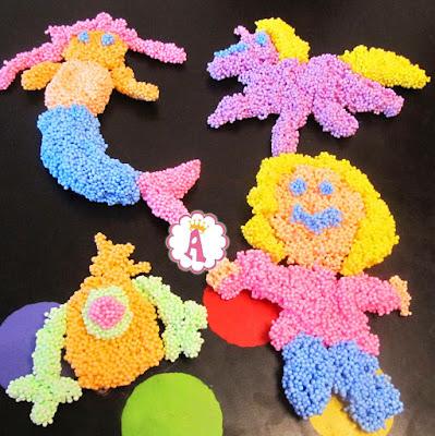 Поделки из шарикового пластилина