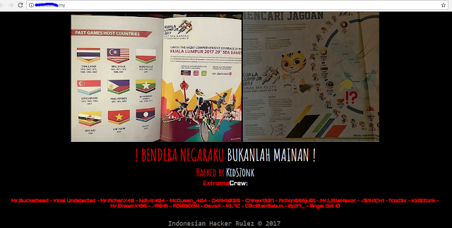 Heboh Fenomena Hacker Indonesia Retas Website Malaysia Pada Ajang Sea Games 2017