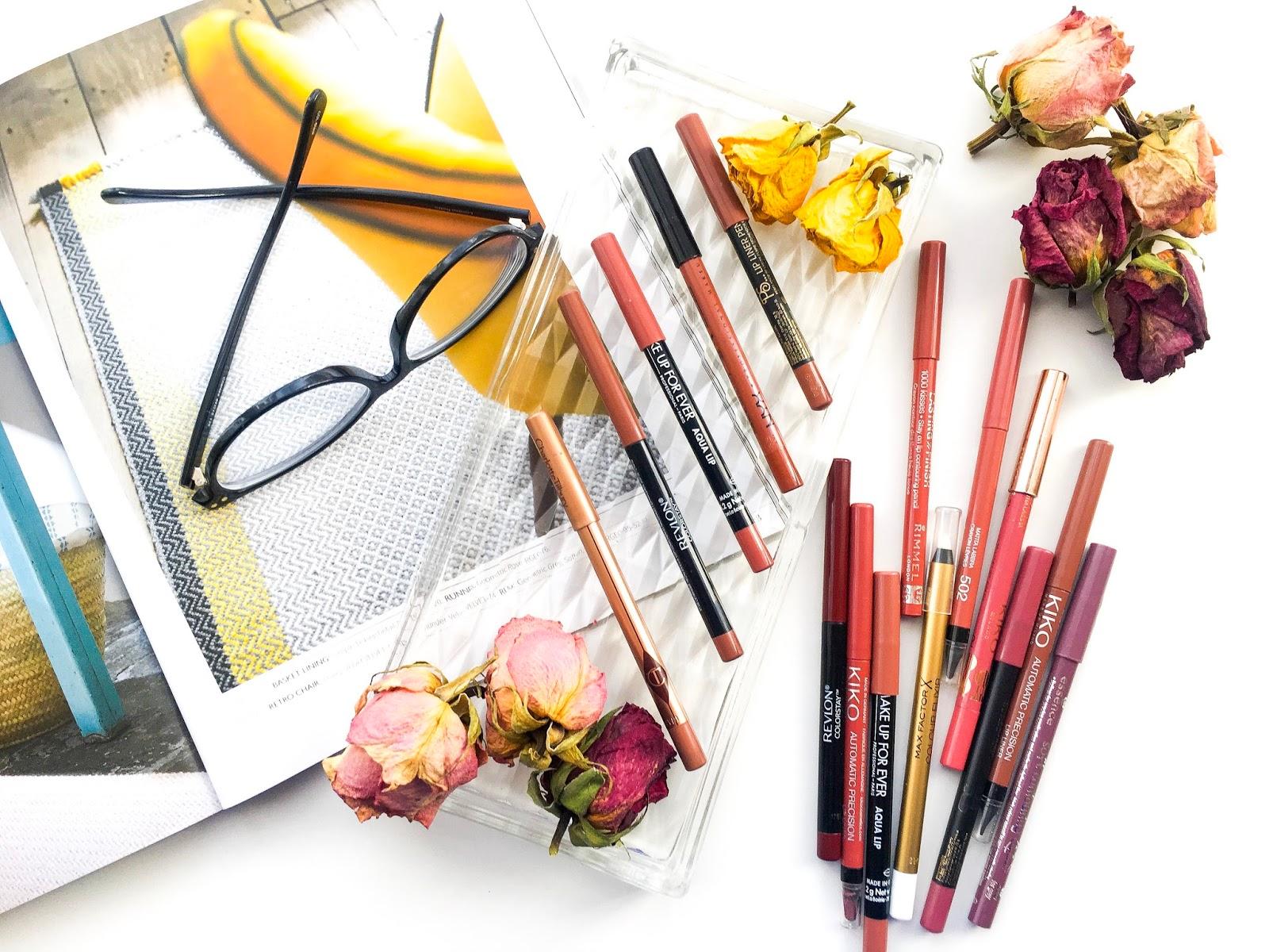 lip pencils, lip liners