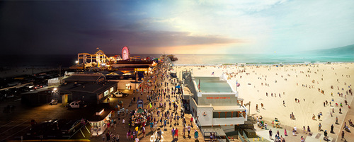 02-Stephen-Wilkes-day-to-night-fine-art-photography-Santa-Monica-Pier-CA