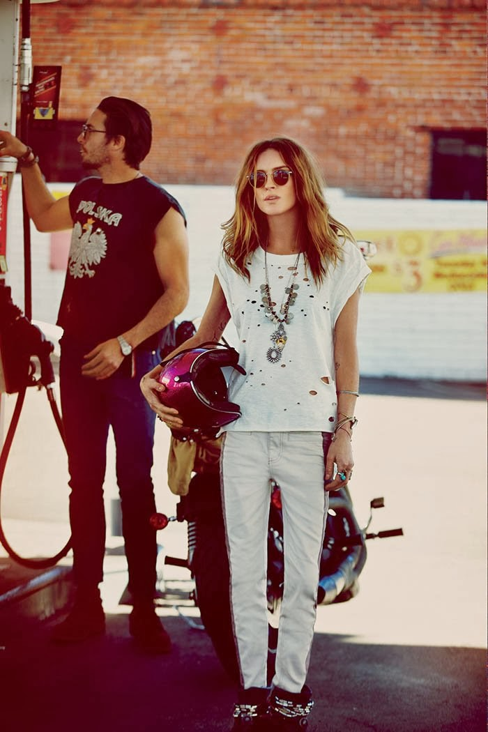 Www Reneeruin Com Free People March Lookbook Featuring Erin Wasson
