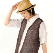 Chaleco en Malla a Crochet o Ganchillo
