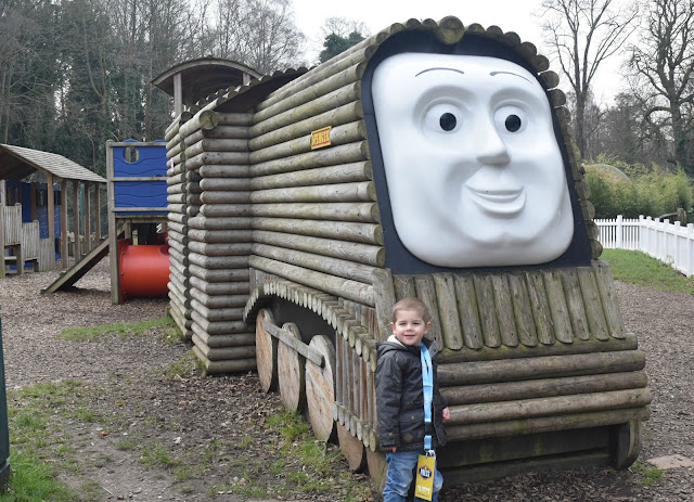 Spencers Outdoor Adventure Play at Thomas Land, Drayton Manor