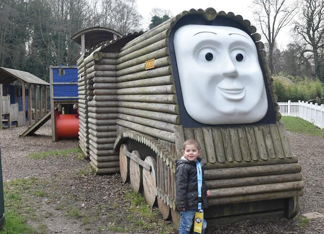 Spencers Outdoor Adventure Play at Thomas Land, Drayton Manor