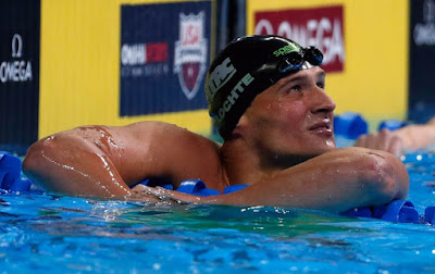 Ryan Lochte Out of Rio 2016 in 400m Medley