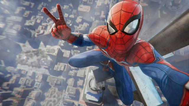 Spider Man Game Playsation 4 - Fond d'Écran en Ultra HD 4K
