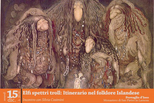 Elfi, spettri e troll - Itinerario nel folklore islandese