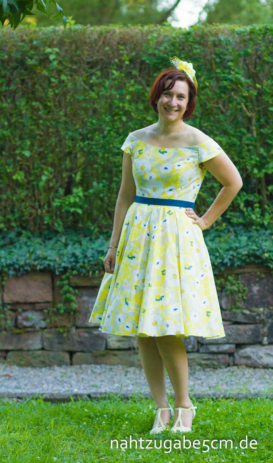 Nahtzugabe5cm: Schwesternhochzeit: mein Hochzeitsgastkleid für die ...