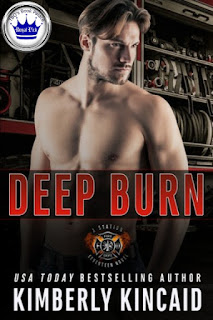 romance novel covers, romantic suspense, Royal Pick, Deep Burn by Kimberly Kincaid