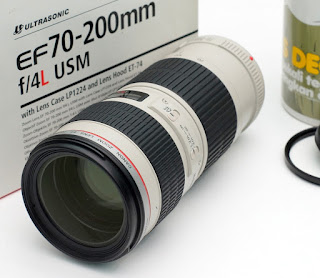 Canon 70-200mm f4L USM Second