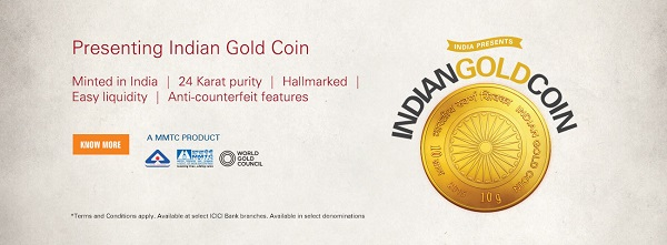 icici gold coin