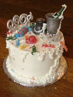 New Year Cake Images 2018 : Happy New Year 2018 Christmas 2017