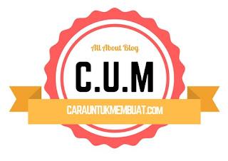 Contoh Logo Cara Untuk Membuat (CUM)