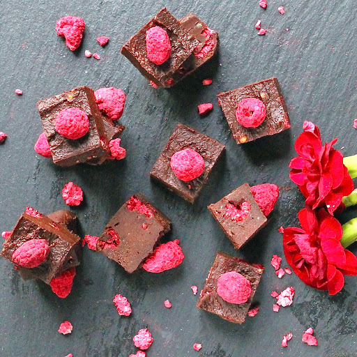 Raw Chocolate Fudge Brownies
