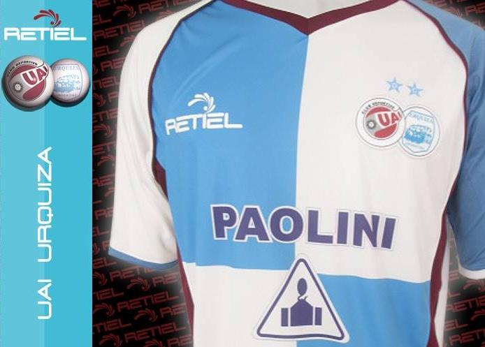 b0d7869792 Retiel divulga a camisa titular do UAI Urquiza - Show de Camisas
