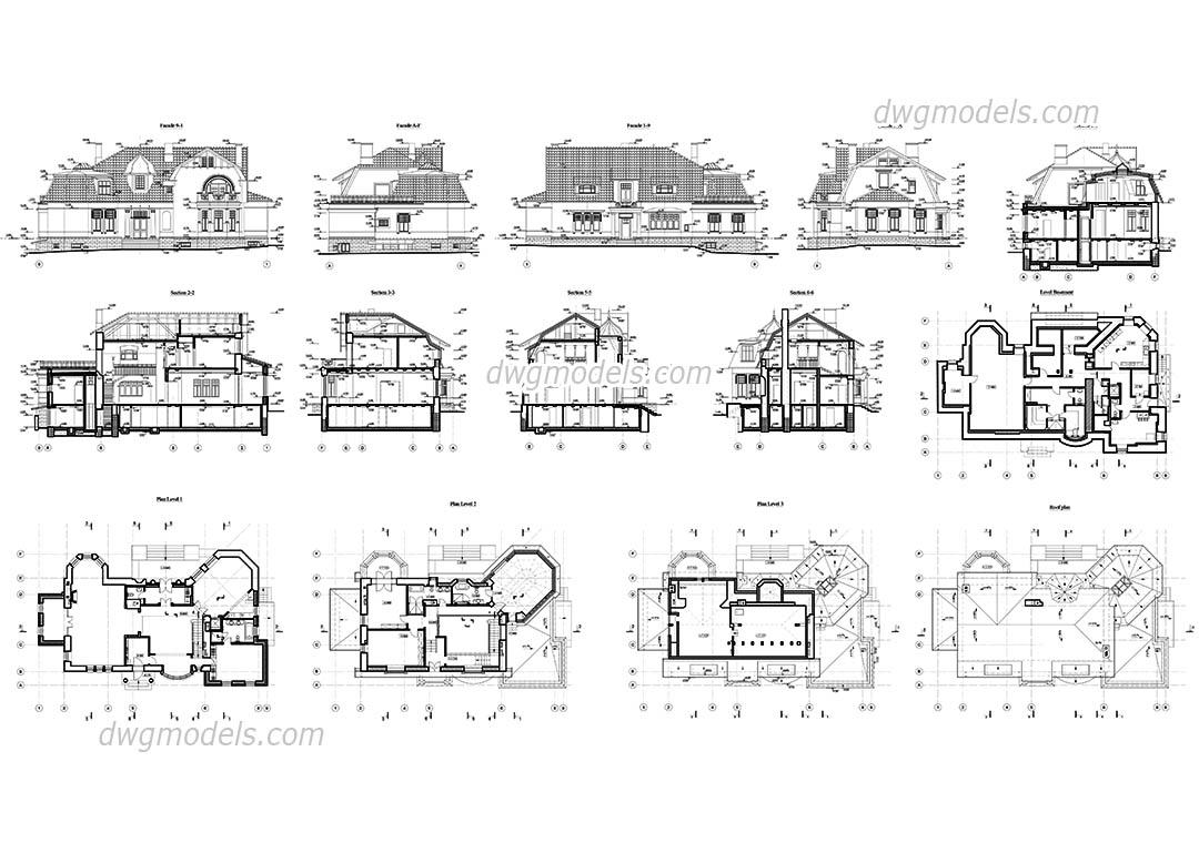 Plan De Maison Sur Autocad Infos Et Ressources