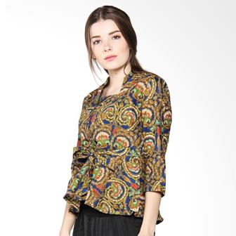 Model Blus Batik Wanita Modern