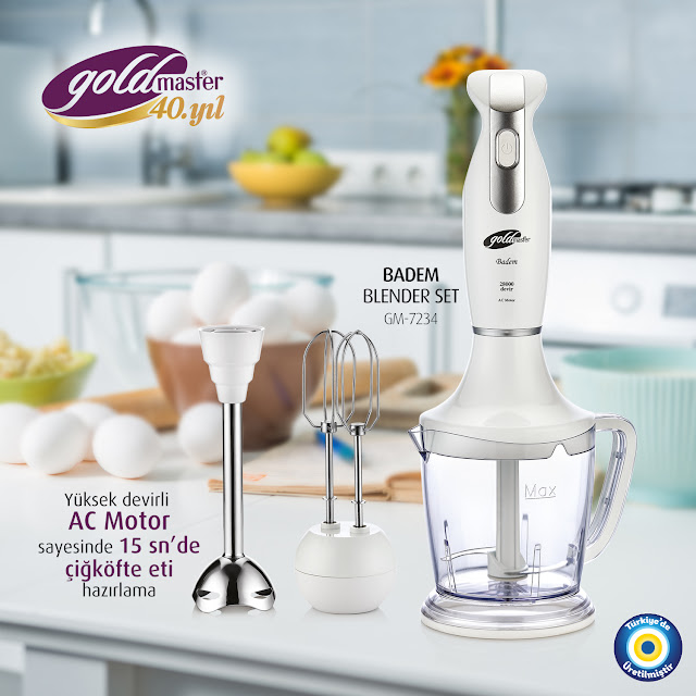 Goldmaster Badem Blender Set