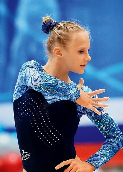 Swiss Cup 2011 Anna Dementieva gymnast gymnastics n.12 #