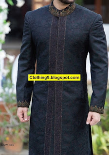 J.| Junaid Jamshed Groom Sherwani Collection 2016-17 with Price