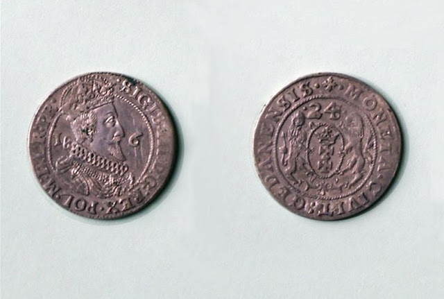 Coins hidden from the Swedes more than 350 years ago discovered in Człuchów