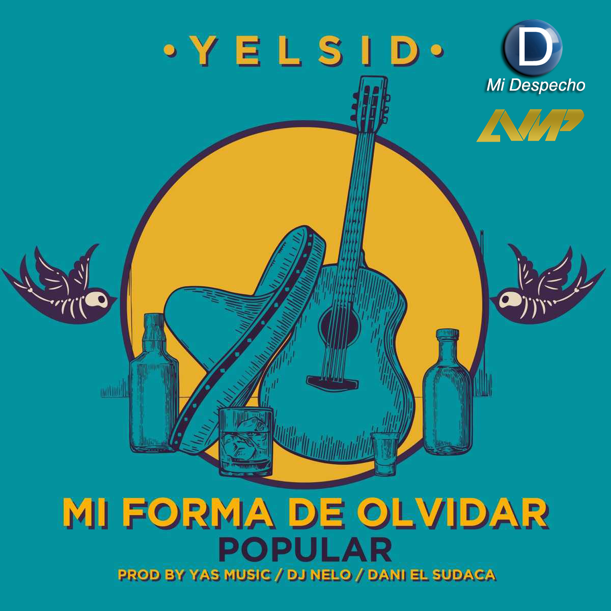 Yelsid Mi Forma De Olvidar Frontal