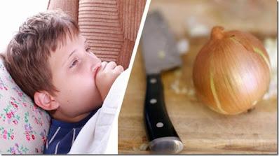 jarabe de cebolla miel y limon para la tos y gripe