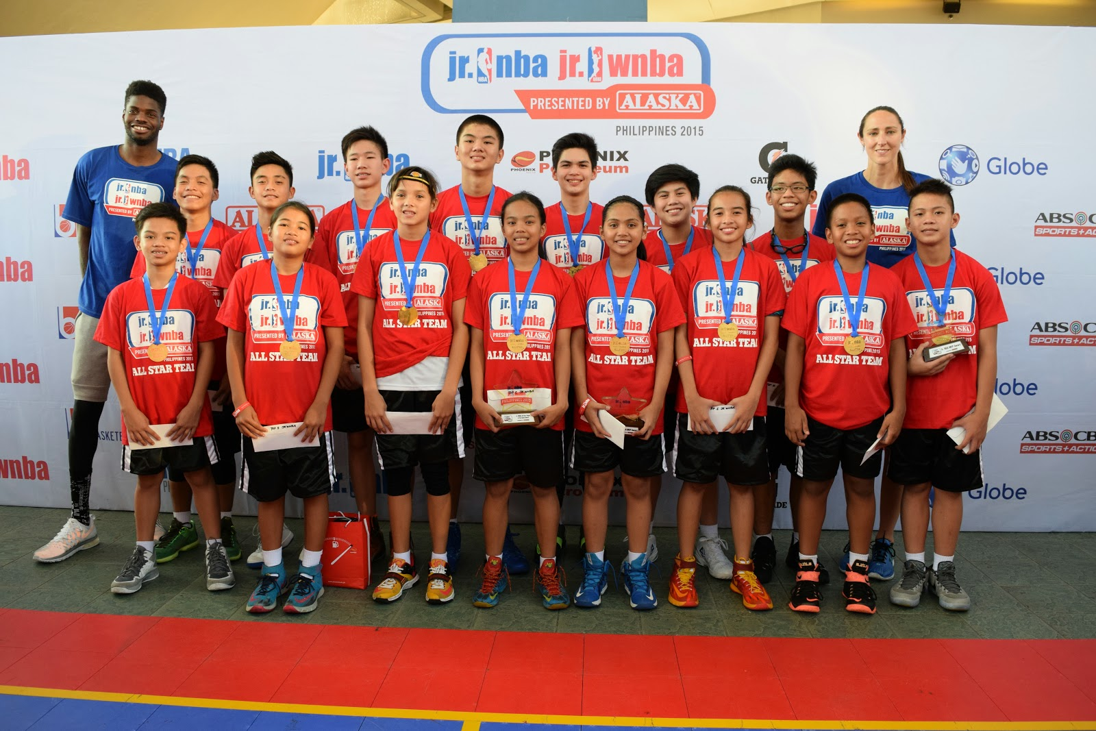 10 Boys, 5 Girls Top 2015 Jr. NBA/Jr. WNBA National Training Camp