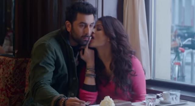 Ranbir Kapoor and Aishwarya Rai Bachchan shares great chemistry in 'Bulleya' from Ae Dil Hai Mushkil.