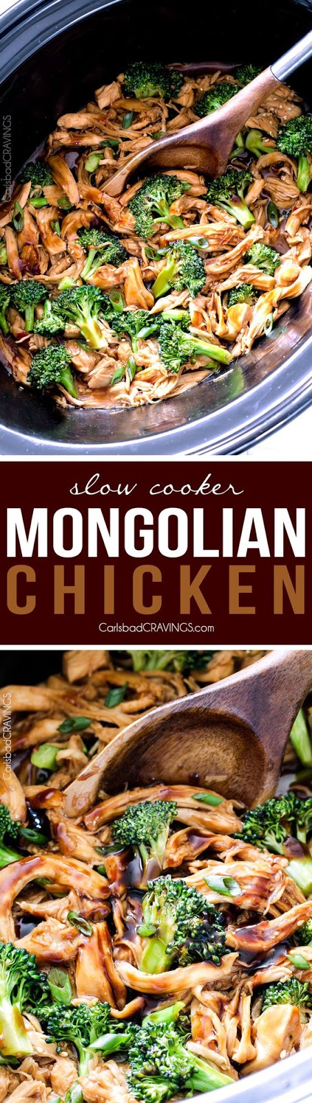 Mongolian Chicken (Slow Cooker)