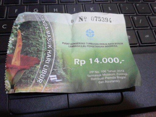 Kebun raya Bogor, Asyiknya Jalan-jalan