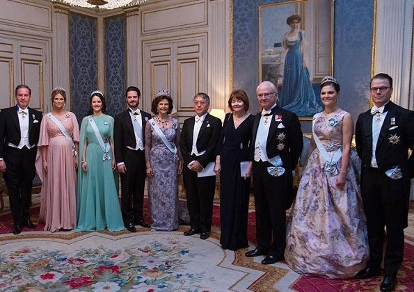 Queen Silvia, Crown Princess Victoria, Princess Sofia, Princess Madeleine wore Elie Saab Maternity Dress