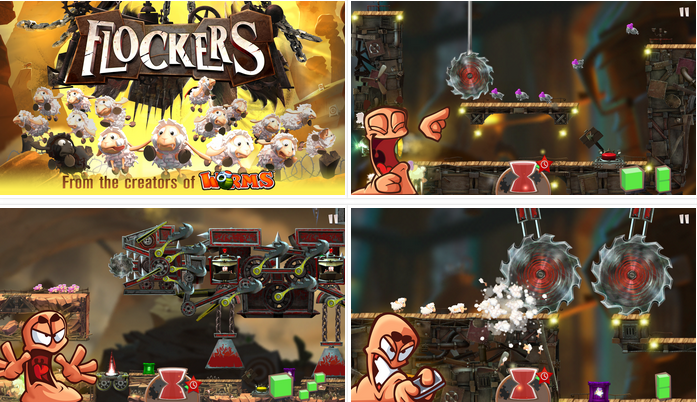 Flockers v1.990 APK