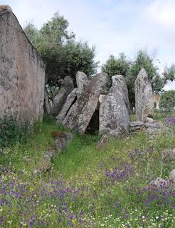 MENHIR / Anta 4 dos Coureleiros, Castelo de Vide, Portugal