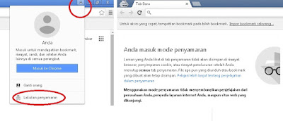 Cara Private Browsing Menggunakan Google Chrome