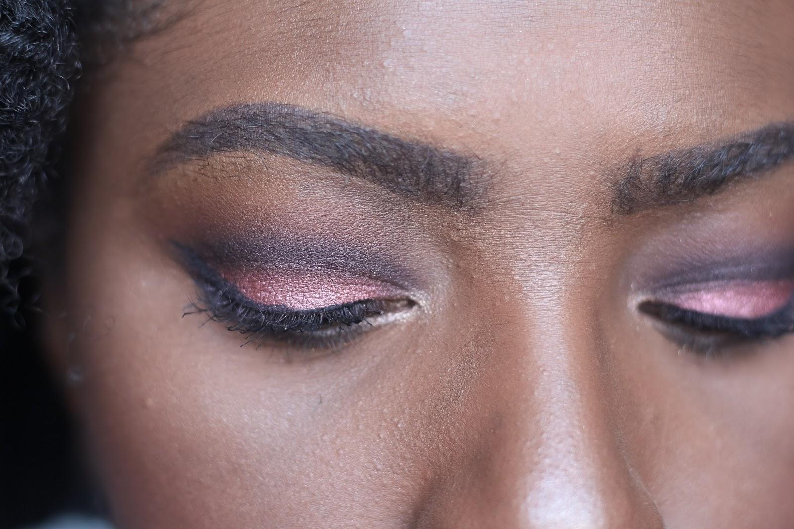 MAC Burgundy x 9 Eyeshadow Palette Valentine's Day Makeup
