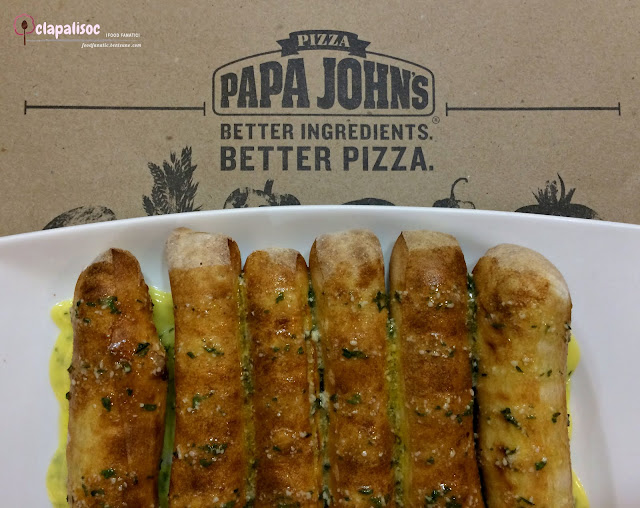 Herbed Parmesan Bread Sticks from Papa John's Pizza