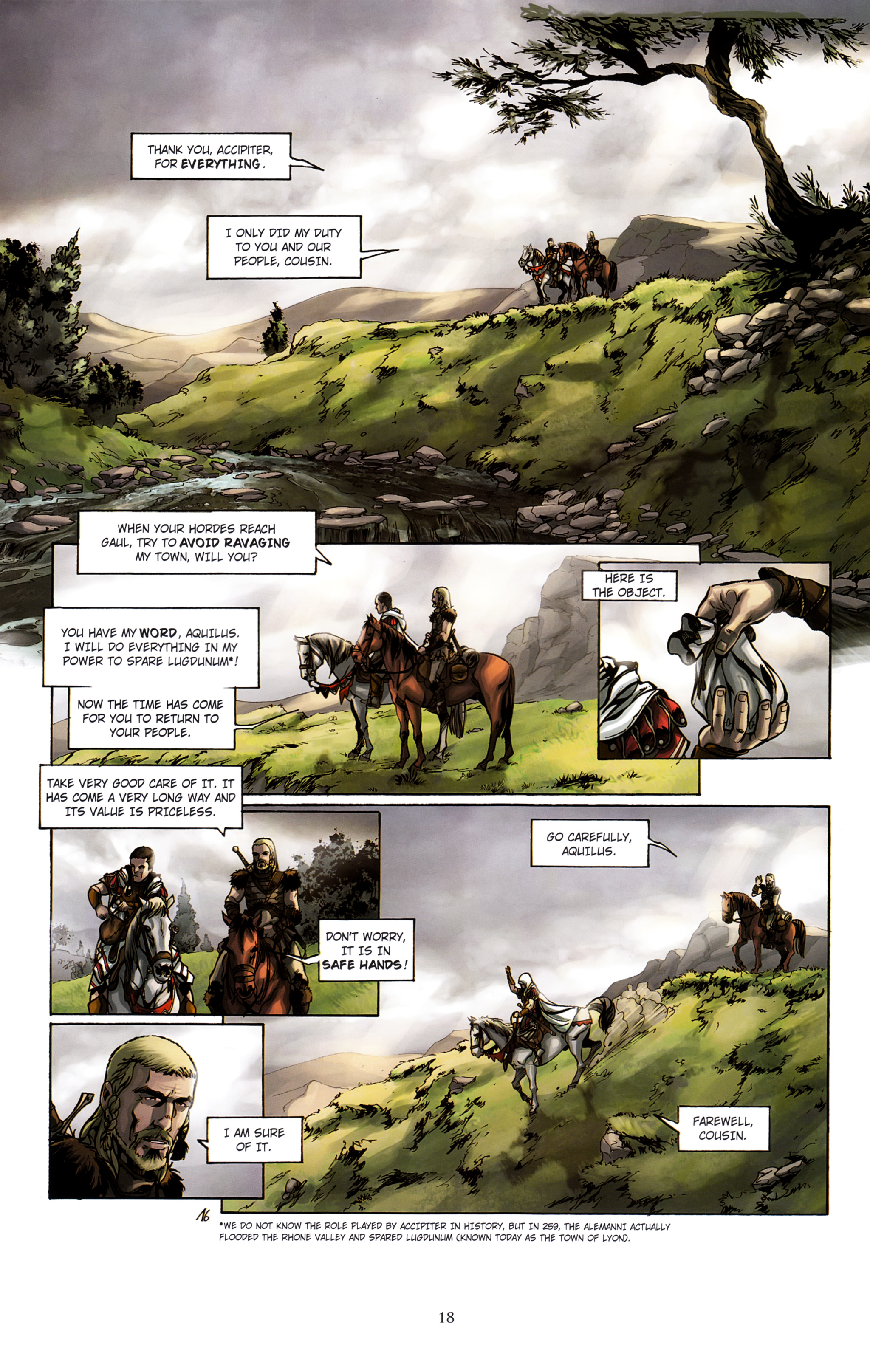 Read online Assassin's Creed (2012) comic -  Issue #2 - 22