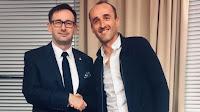 Robert Kubica Daniel Obajtek Williams F1