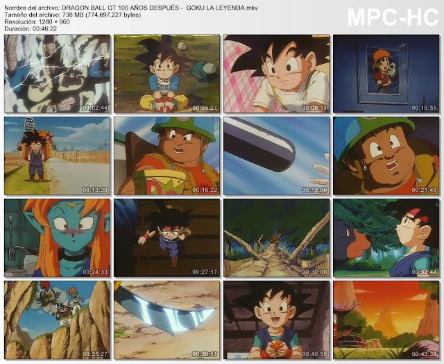 Descargar Dragon Ball GT 100 Años Después Mega y Mediafire