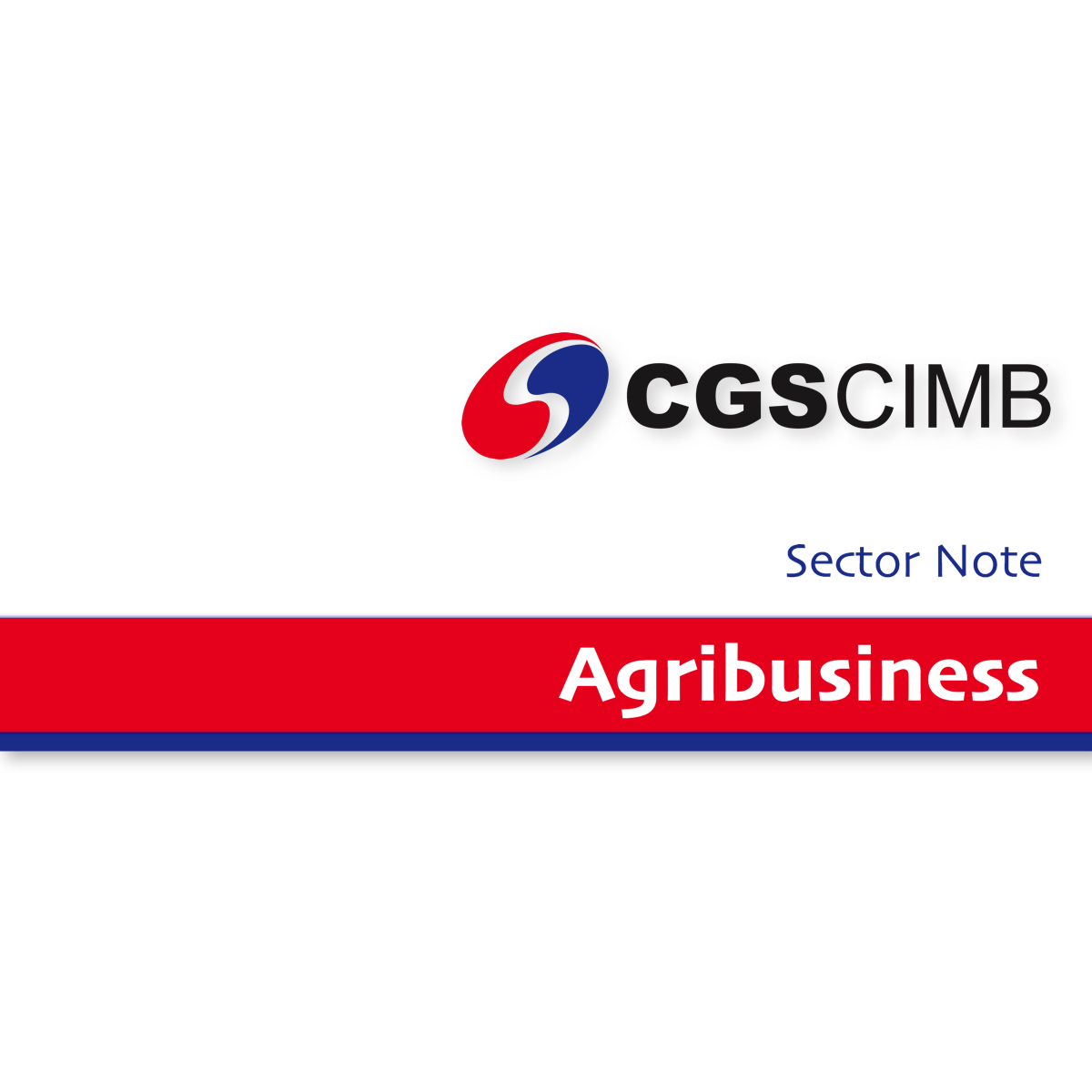 Agribusiness - CGS-CIMB Research | SGinvestors.io