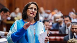 نادية هنري تستنكر قرار وزيرة الصحة